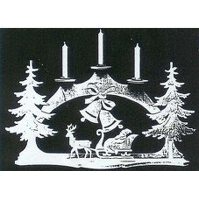 vorlage 107 weihnachtsglocken schwibbogen christmas. Black Bedroom Furniture Sets. Home Design Ideas