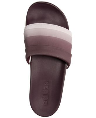best website 5eb7b 3e78b adidas Women s Adilette Cloud Foam + Armad Slide Sandals from Finish Line -  Red 9