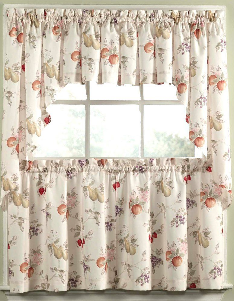 Fruit Kitchen Curtains New Decorating
