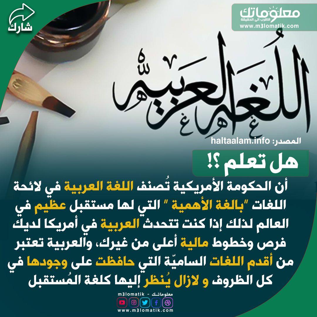 اللغة العربية Lae Arabic Calligraphy