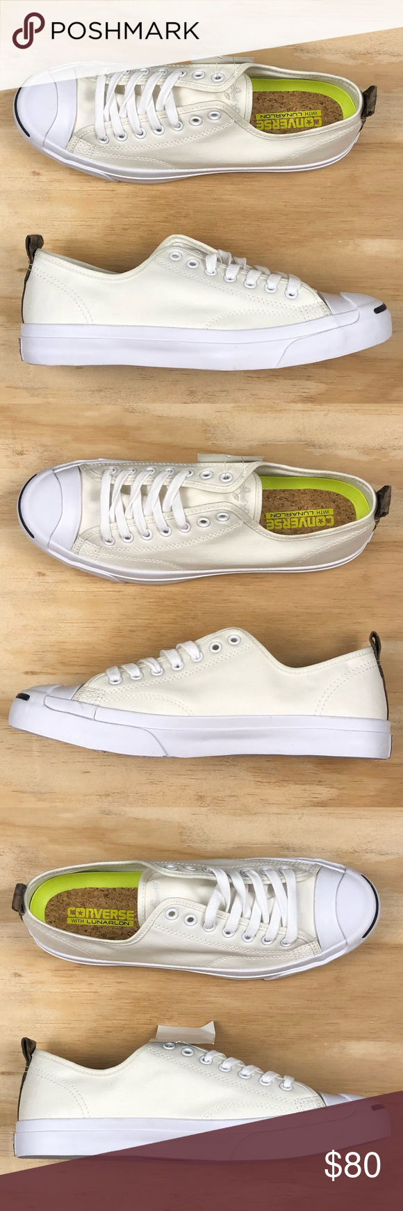 c156ec2a174cd4 Converse Jack Purcell Pro Ox White Camo Low Top 😁Brand New - Never Worn -  No Box - No Rips Or Tears - No Stains - Smoke Free - 100% Authentic ...
