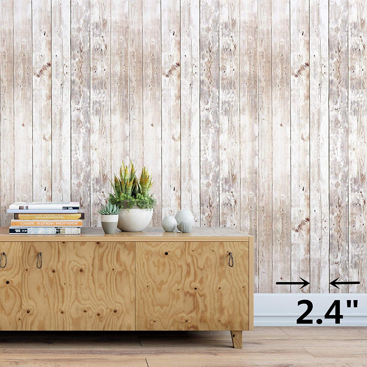 Wood Contact Paper 17 8 X 16 4 Wood Peel And Stick Wallpaper Self Adhesive Removable Wall Distressed Wood Wallpaper Distressed Wood Wall Wood Plank Wallpaper