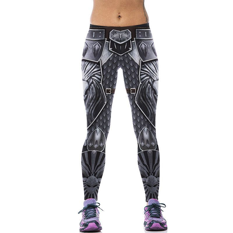 7ffd78741155b New 542 Sexy Girl leggins Game of Thrones WOW Game Horde Eagle Printed  Polyester Elastic Fitness Workout Women Leggings Pants