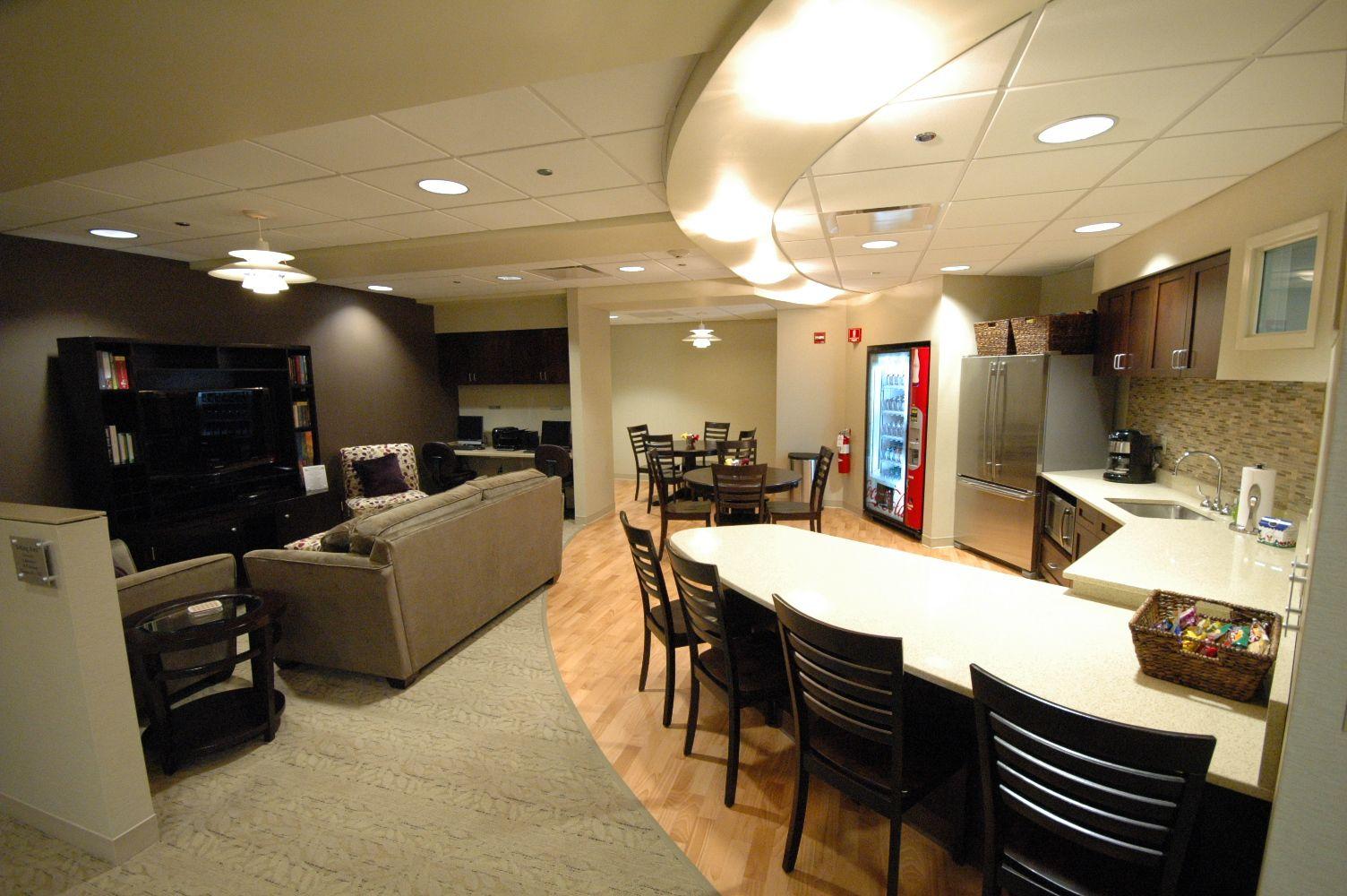 Ronald mcdonald family room in edward hospital ronald for Ronald mcdonald family room