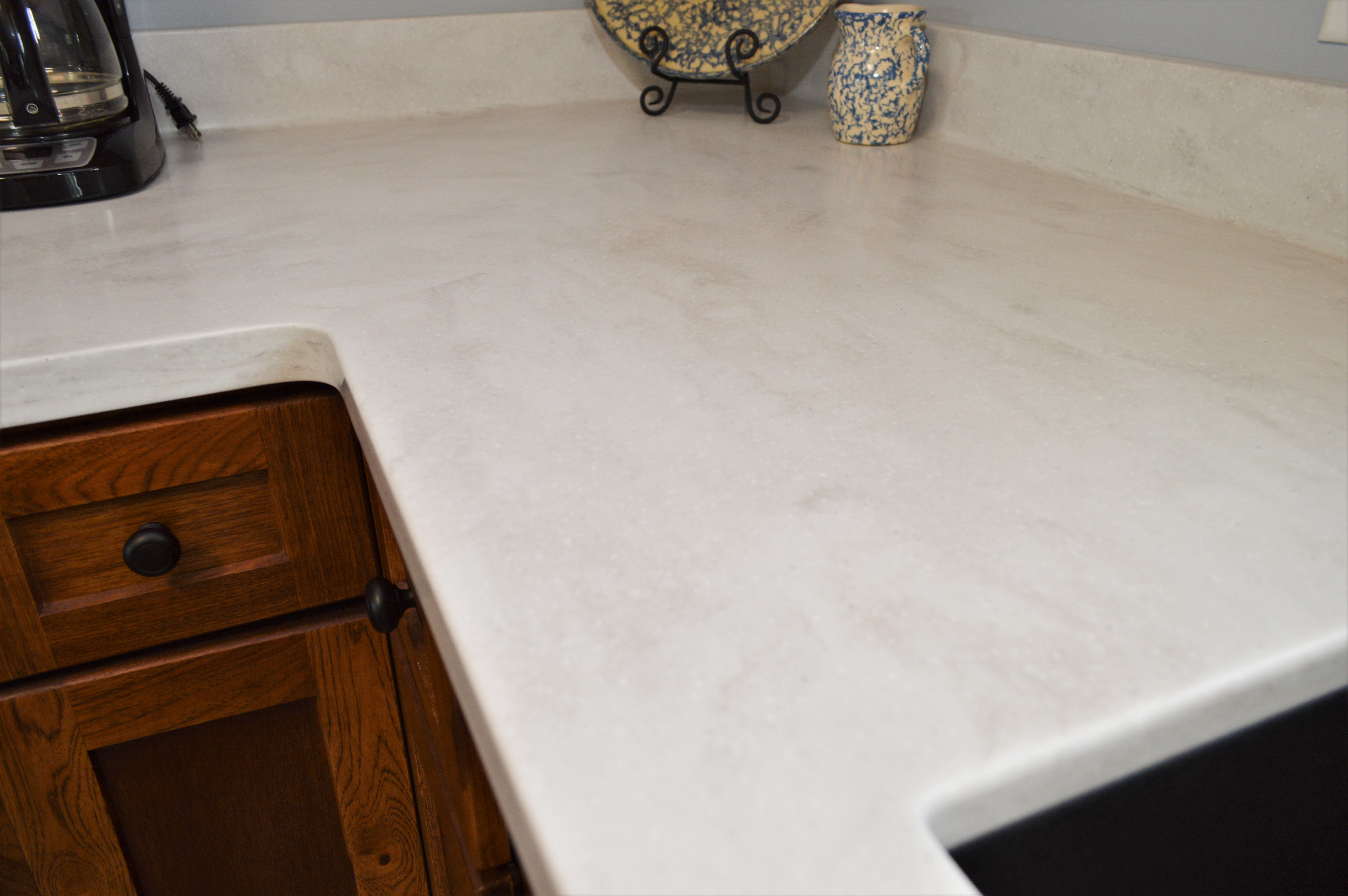Pin On Customer Counter Tops Bailey S Cabinets