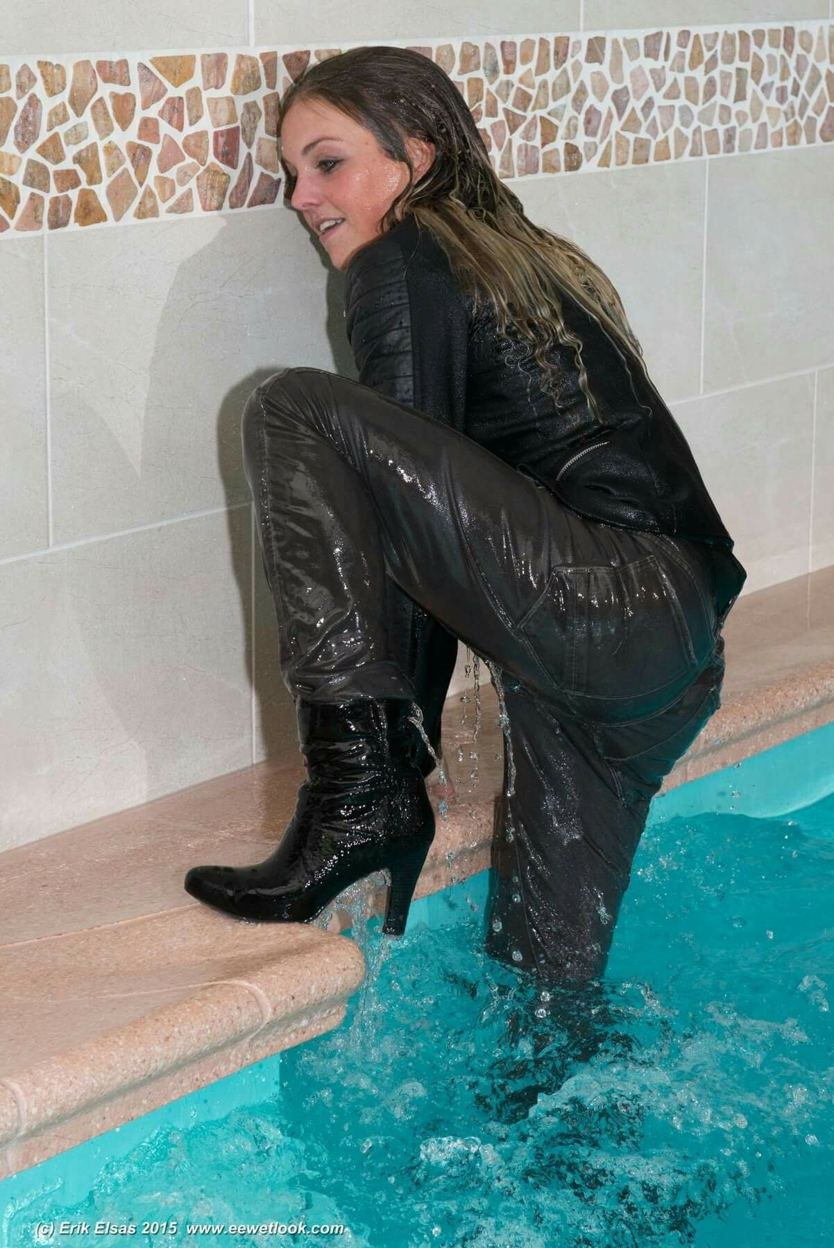 436f232cdb9 Pin by jeremy ebert on pool heels in 2019 | Leather pants, Sexy ...