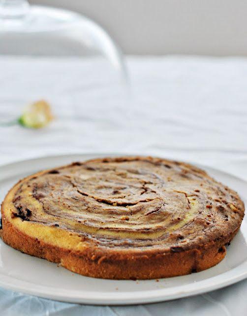 Glu-fri: Torta di ricotta e nutella senza di Marble senza glutine / Torta de ricota y nutella de Marble sin gluten