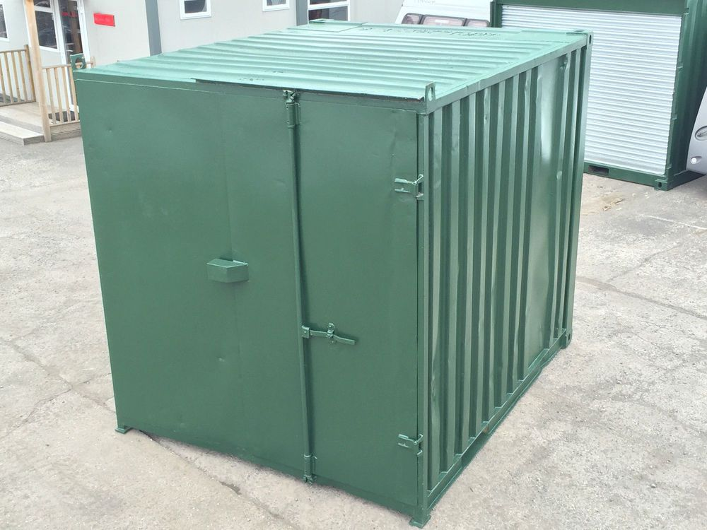 10ft X 8ft Shipping Storage Container Bike Store Lock Box Bike Store Storage Storage Containers