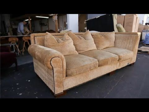 Shrinking Cushion Foam Youtube Cushions On Sofa Sofa Upholstery Upholstery Repair