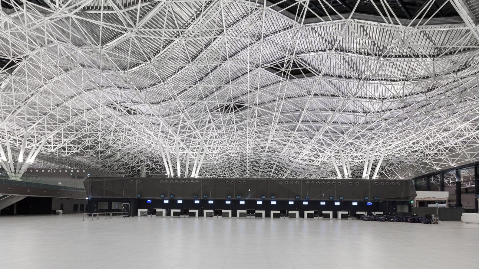 Gallery Of Zagreb Airport Kincl Neidhardt Institut Igh 17 Zagreb Airport City Parametric Architecture