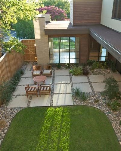 24x24 concrete pavers patio