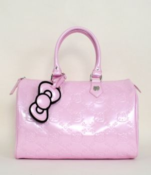 HELLO KITTY BABY PINK PATENT EMBOSSED CITY BAG LOUNGEFLY OFFICIAL WEBSITE   70.00 916147963aacb