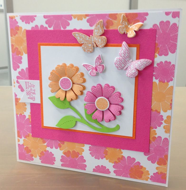 Qvc Card Making Ideas Part - 16: Made By Caroline Blanchard From The QVC Creative Craft Team.