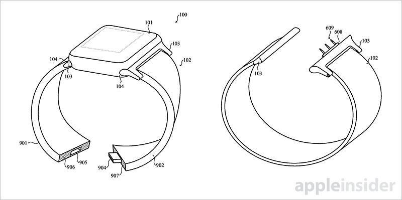 Apple Patent Details Modular Smart Bands for Apple Watch