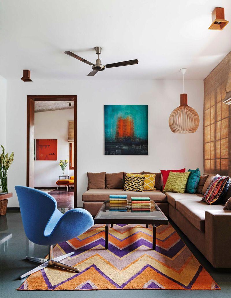Modern residence apt home house living room