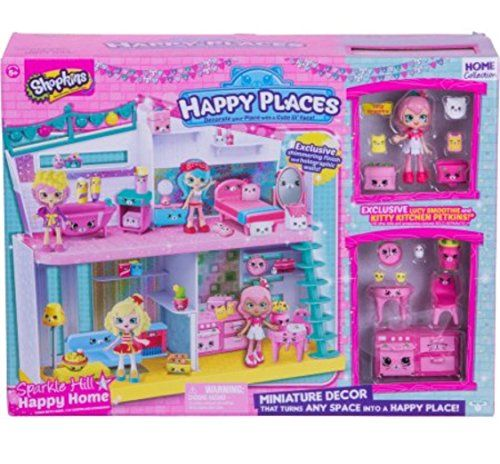 Shopkins Happy Places Sparkle Hill Happy Home With Exclus