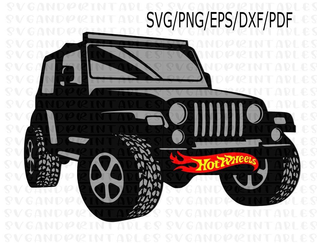 Excited To Share The Latest Addition To My Etsy Shop Hot Wheels Jeep Svg Hot Wheels Jeep Png Transparent Backgrounds H Hot Wheels Jeep Hot Wheels Ryan Toys