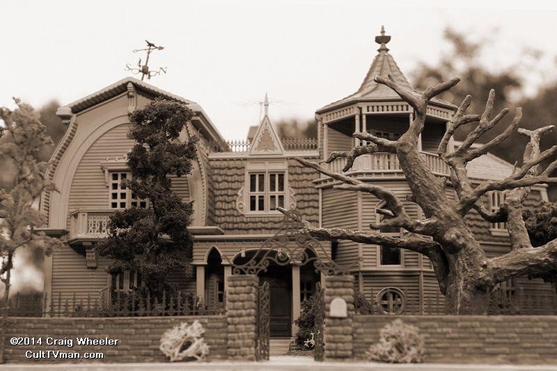 Modeling The Munsters House By Craig Wheeler Munsters House The Munsters Munsters Tv Show
