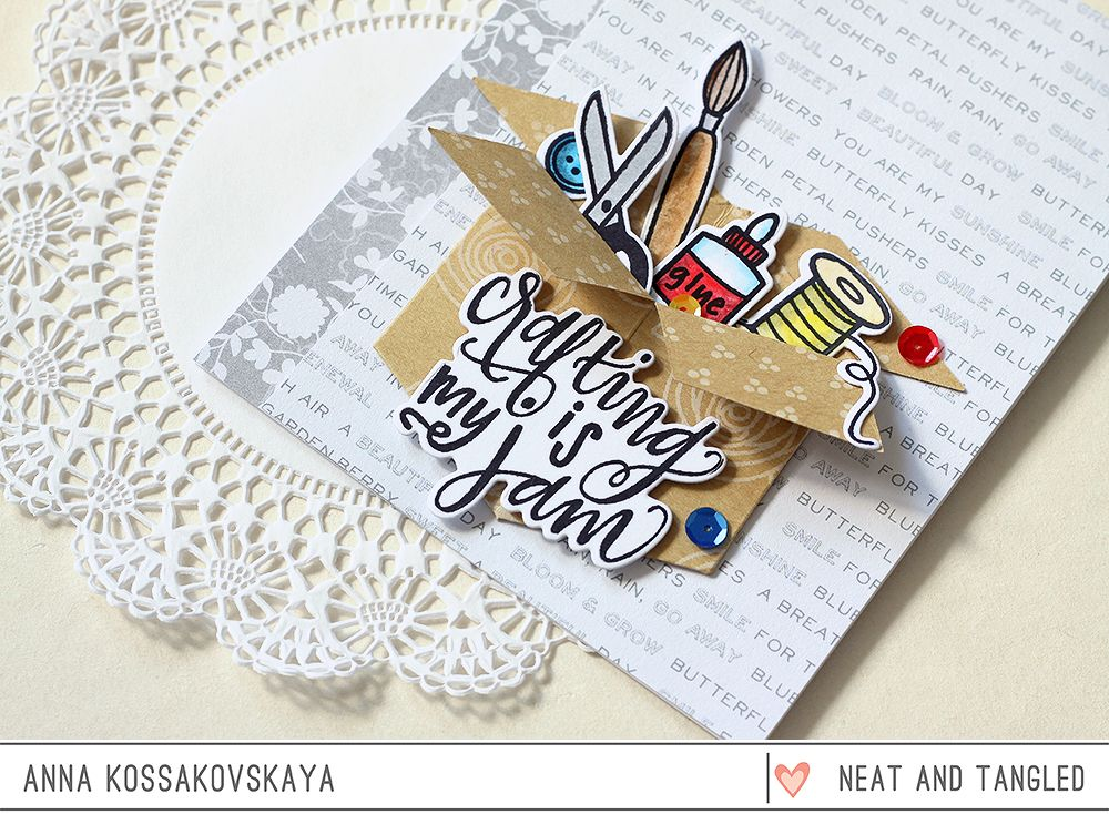 Cards with new release by Anna  - Products and inspiration from Neat And Tangled: http://neatandtangled.blogspot.com/