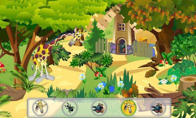 Animal Hide and Seek Hidden Object Game for Kids Seek