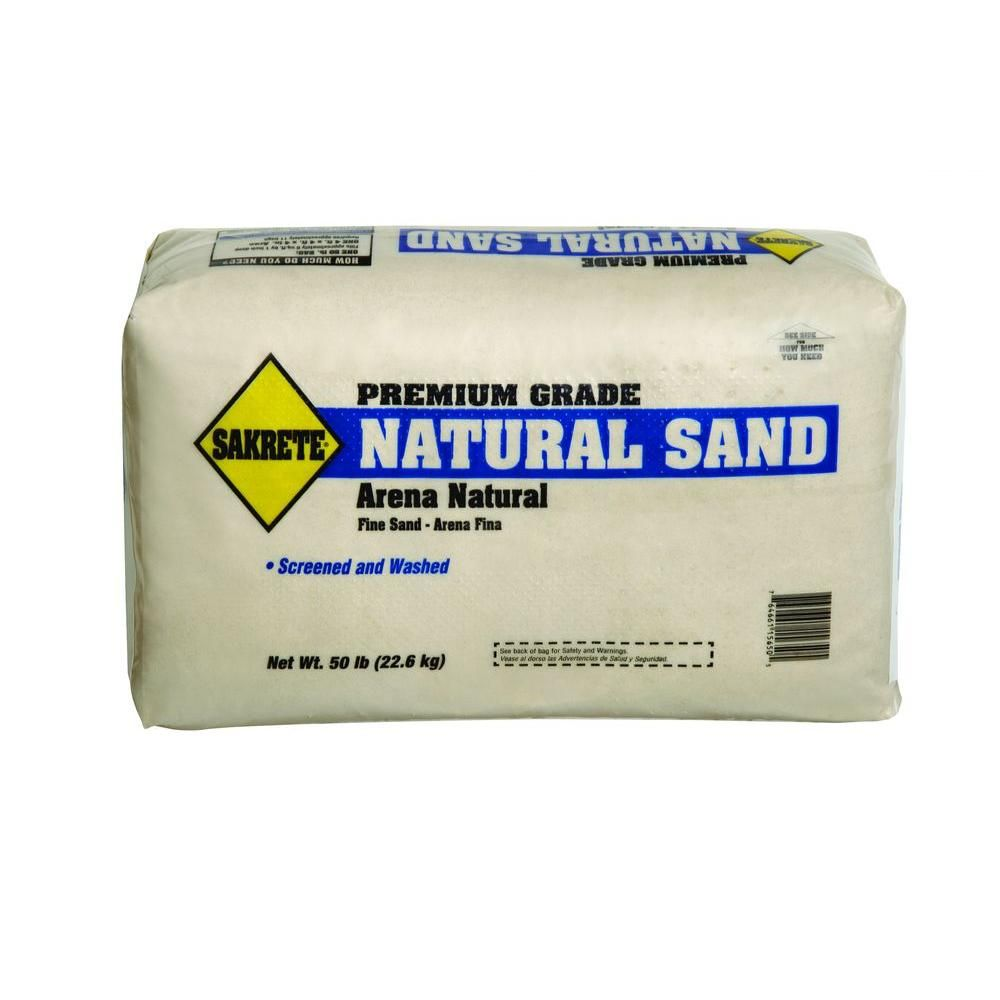 SAKRETE 50 lb  Natural Play Sand-100033813 - The Home Depot