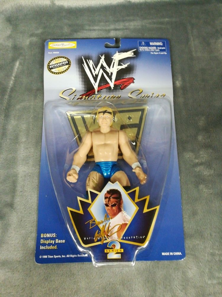 WWF WWE Signature Series 2 Bad Ass BILLY GUNN NEW NIP Jaaks Pacific  #Wrestling #