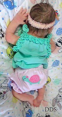 Full Body Solid Ecoflex 20 Silicone Preemie Baby Girl