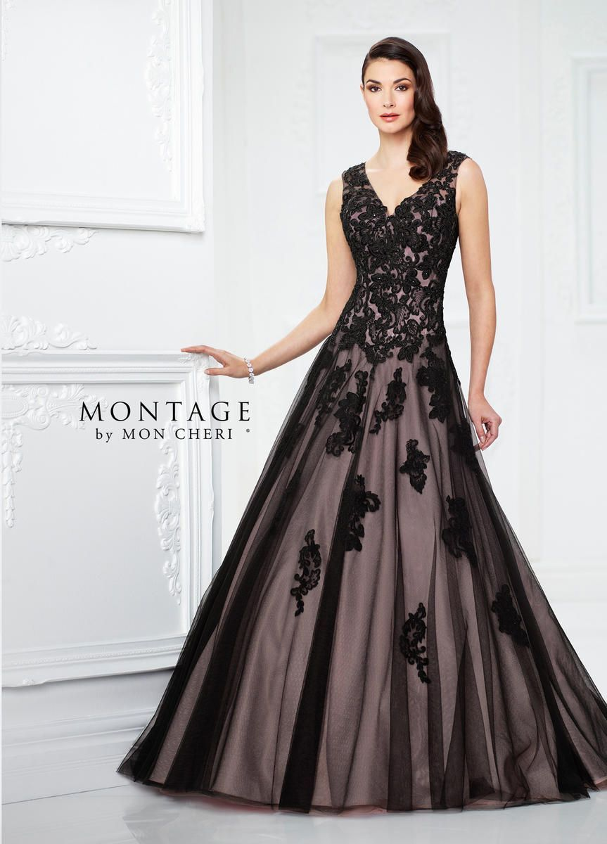 Montage by Mon Cheri 13 Lace Formal Gown  Abiball kleider