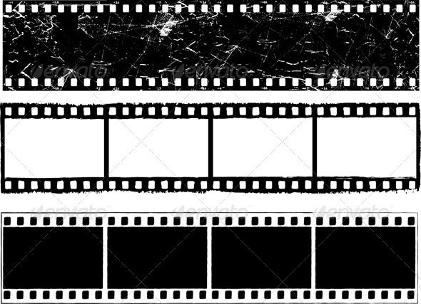Realistic graphic download ai psd http hardcast for Printable film strip template
