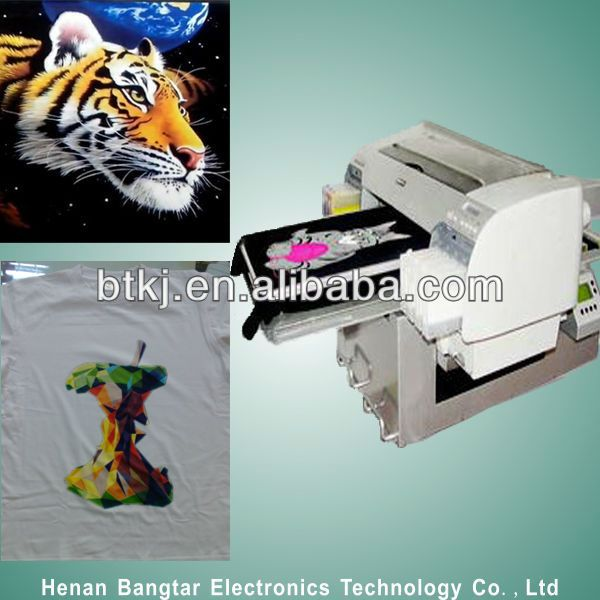 CMYK Industrial Fabric/T-Shirt Printer Machine in Stocks for