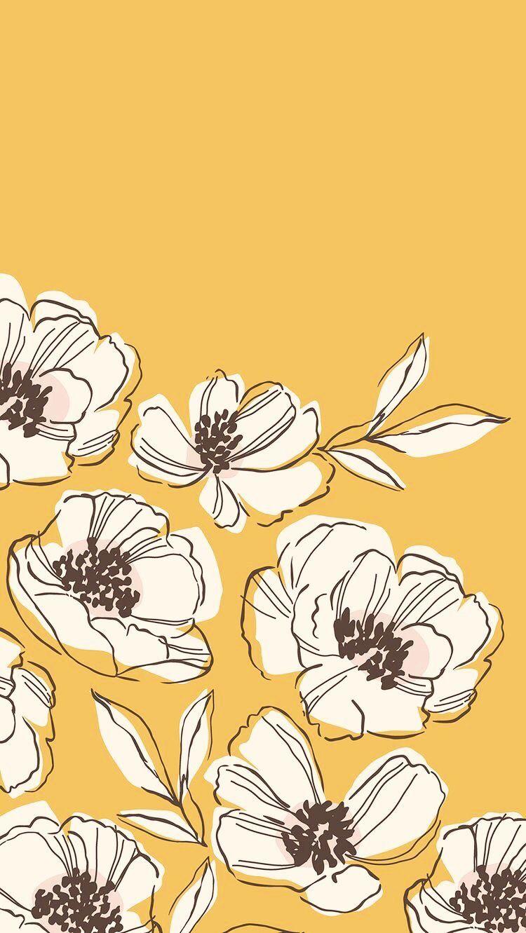 Digital Wallpaper Image By Iara Gobbo On Yellow Art Art Wallpaper