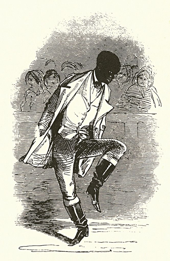 who invented tap dancing