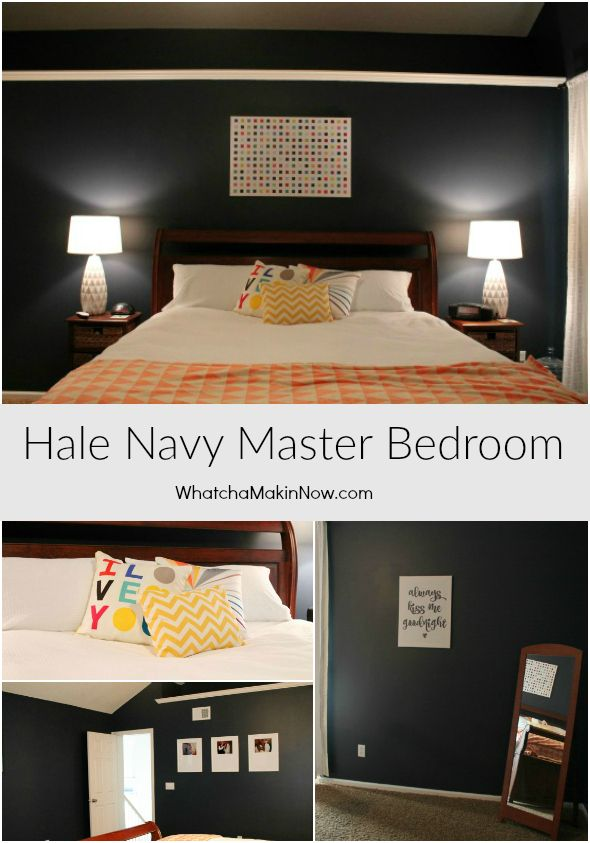 Hale Navy Master Bedroom Reveal Navy Master Bedroom Master Bedroom Bedroom