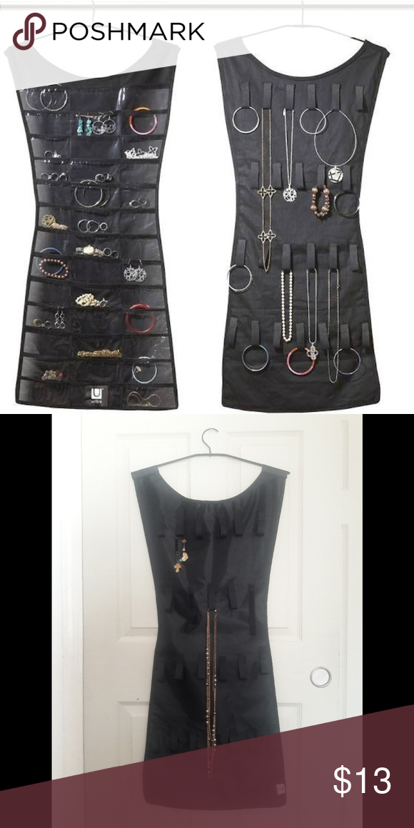 Umbra Little Black Dress Jewelry Organizer My Posh Closet
