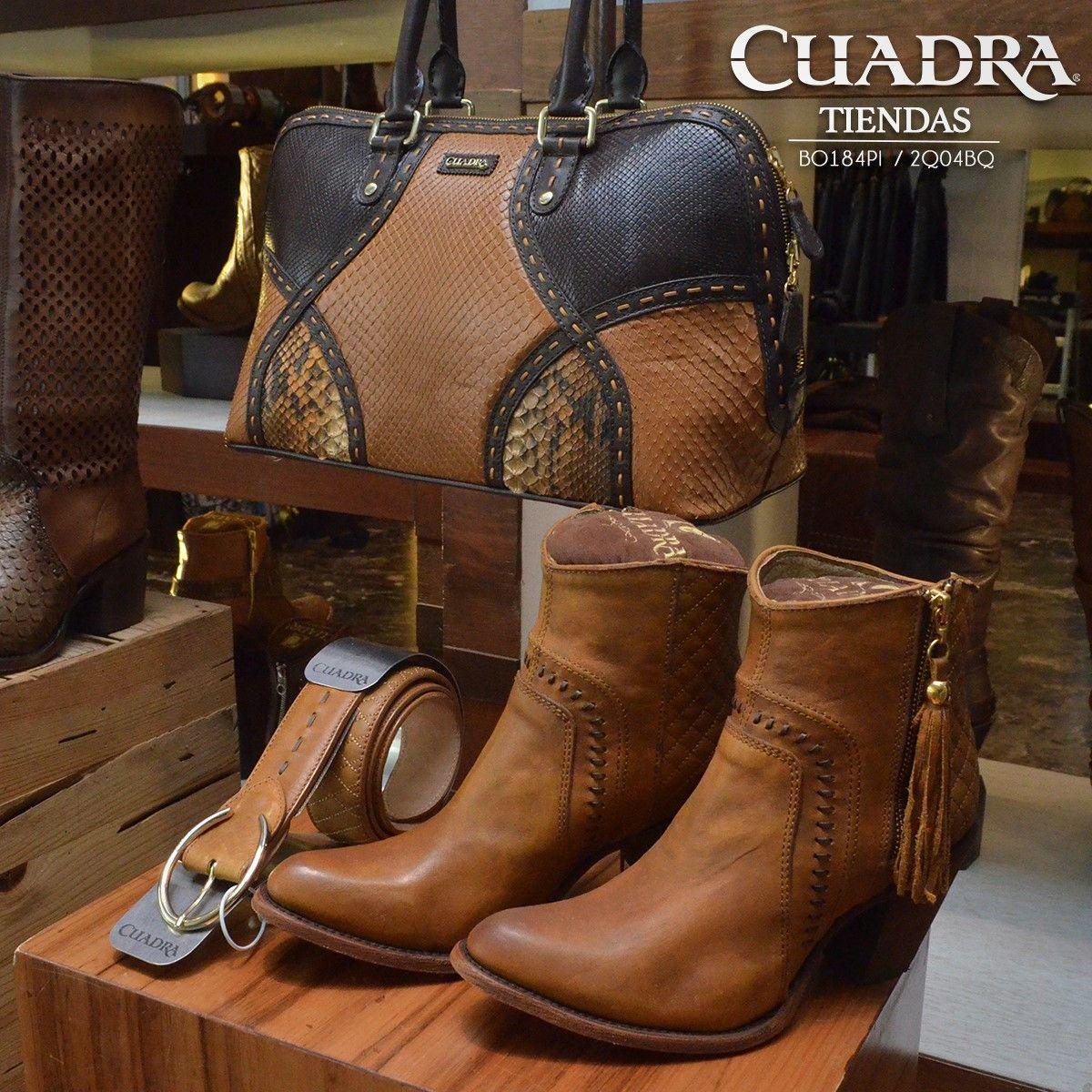 04a2e5d63d702 Belleza con calidad artesanal  CUADRA  Shoes  Boots  Botas  Botines  Cinto   Bolsa  FrancoCUADRA  Leather