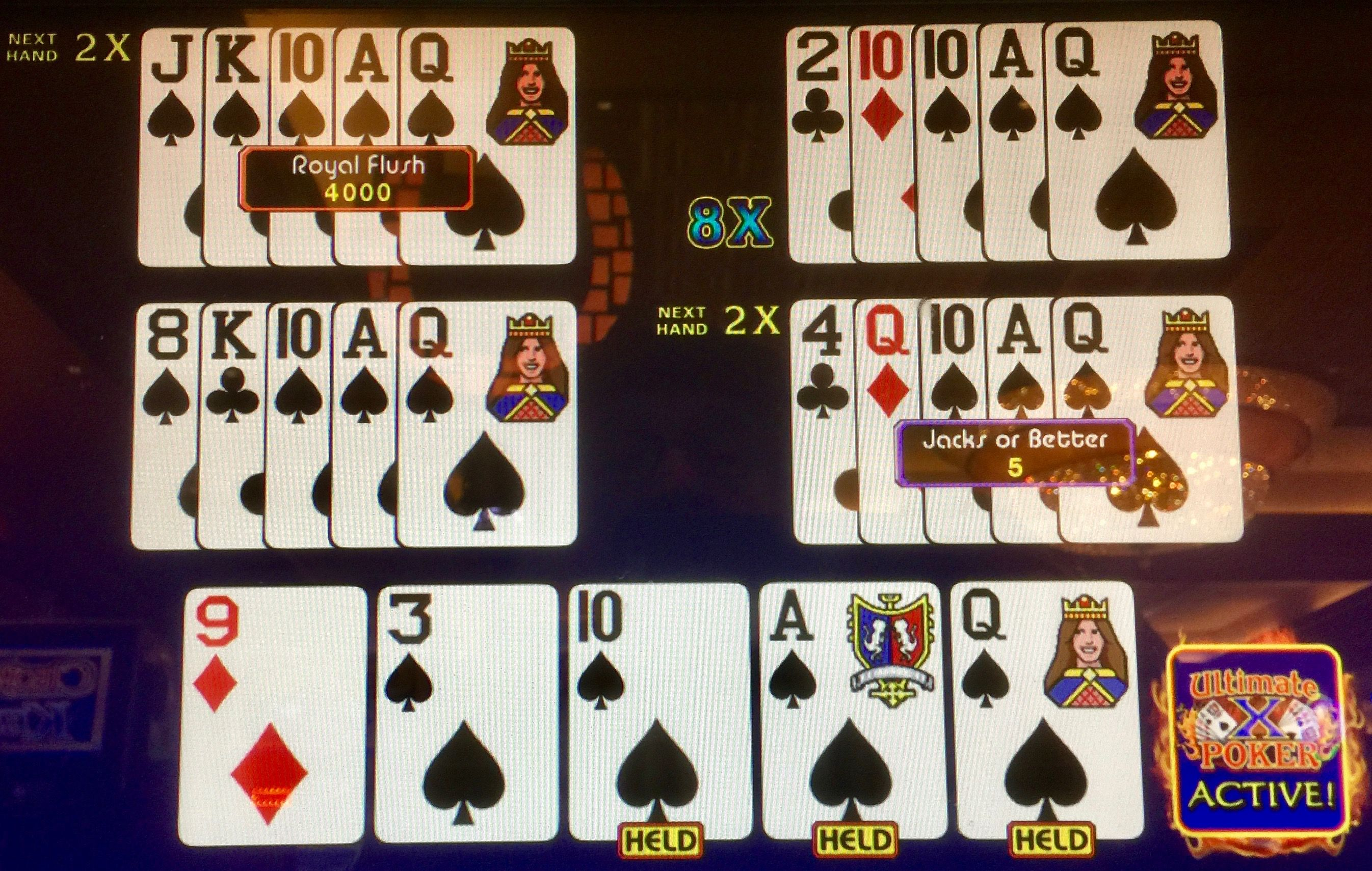 A royal chances of catching a royal holding three cards