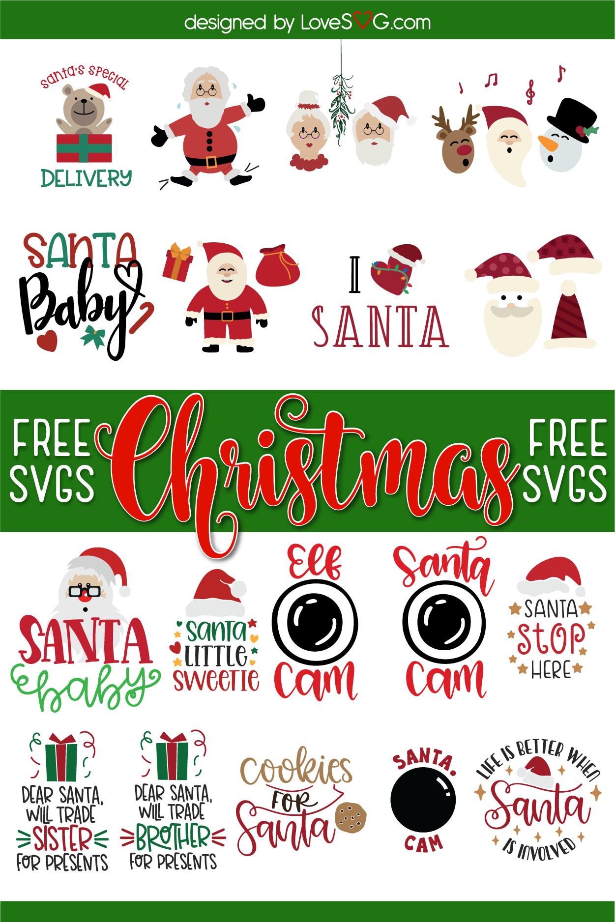 Pin on Free Christmas SVG Cut Files