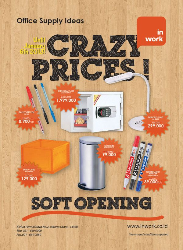 Promotional Flyer Layout Design By A Priabudiman Via Behance