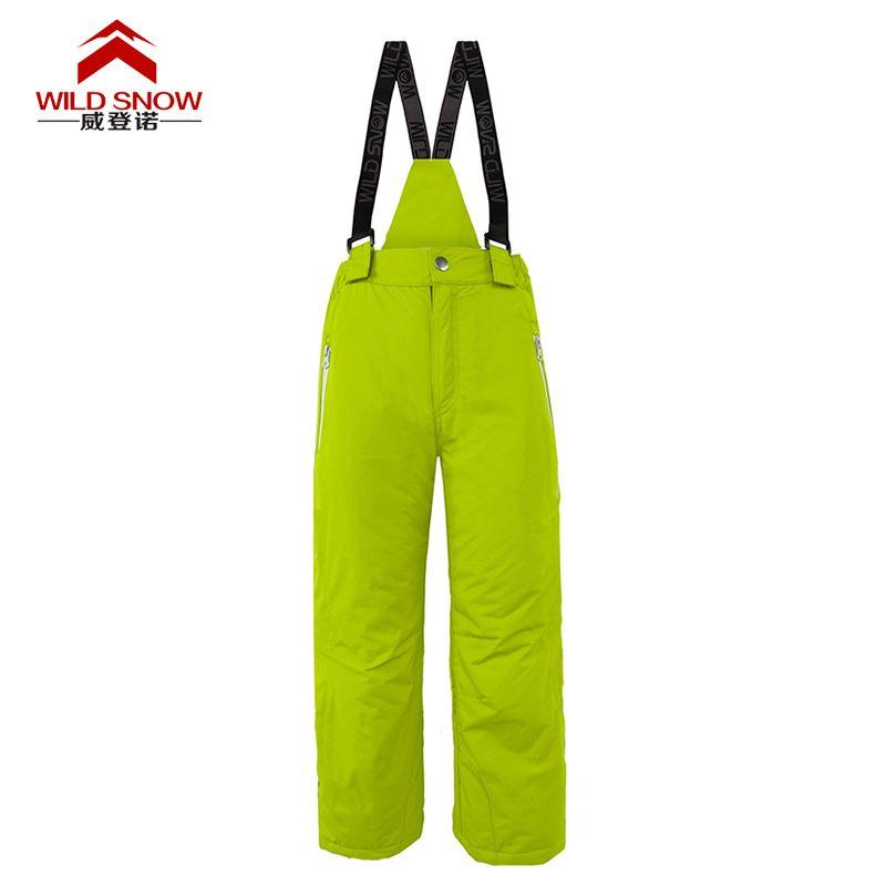 732b2ce41 Brand Chilren Ski Pants Warm Winter Waterproof Snowboarding Skiing ...