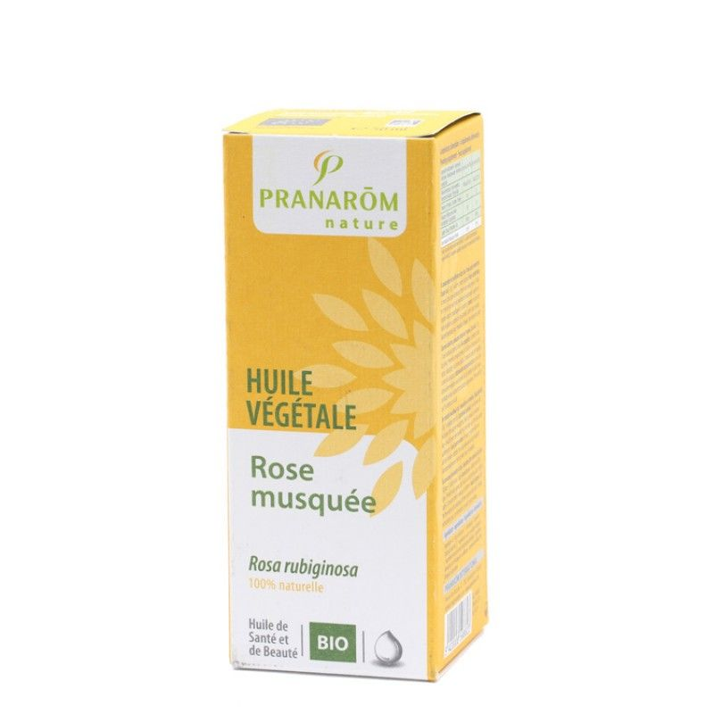 Pranarôm Huile végétale de rose musquée bio 50 ml