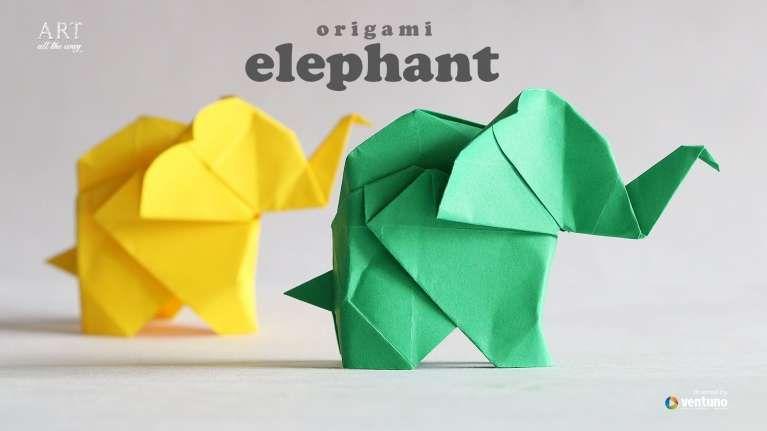 Unique Origami Elephant Instructions Pdf Best Photos For World