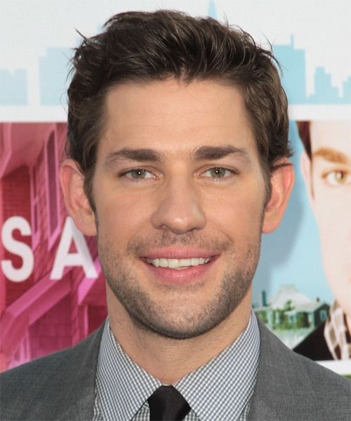 Love Me Some John Krasinski Short Textured Haircuts Mens Hairstyles Medium Mens Hairstyles