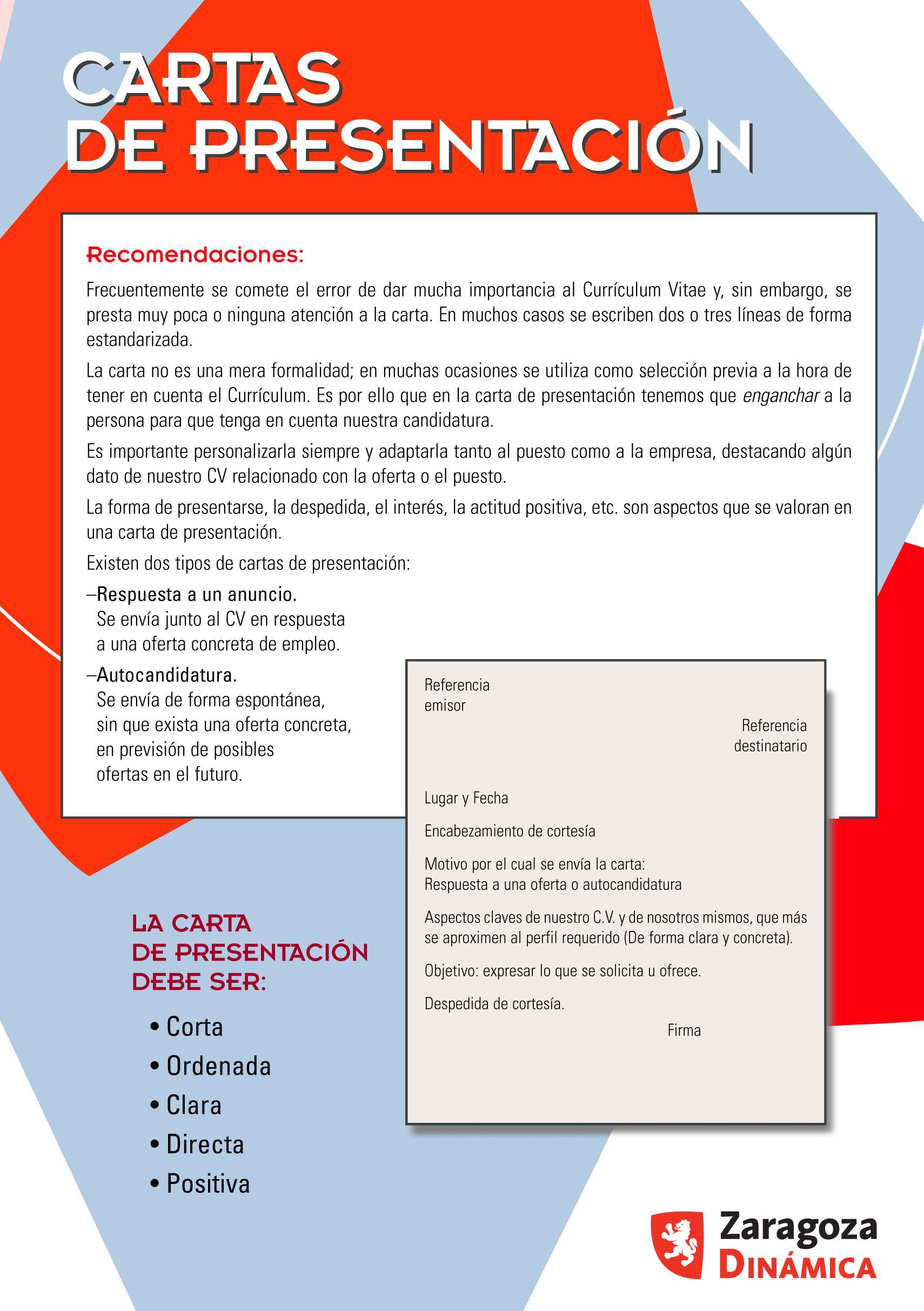 Carta de presentación (parte 1) | Empleo 2.0. Cartas y tarjetas de ...