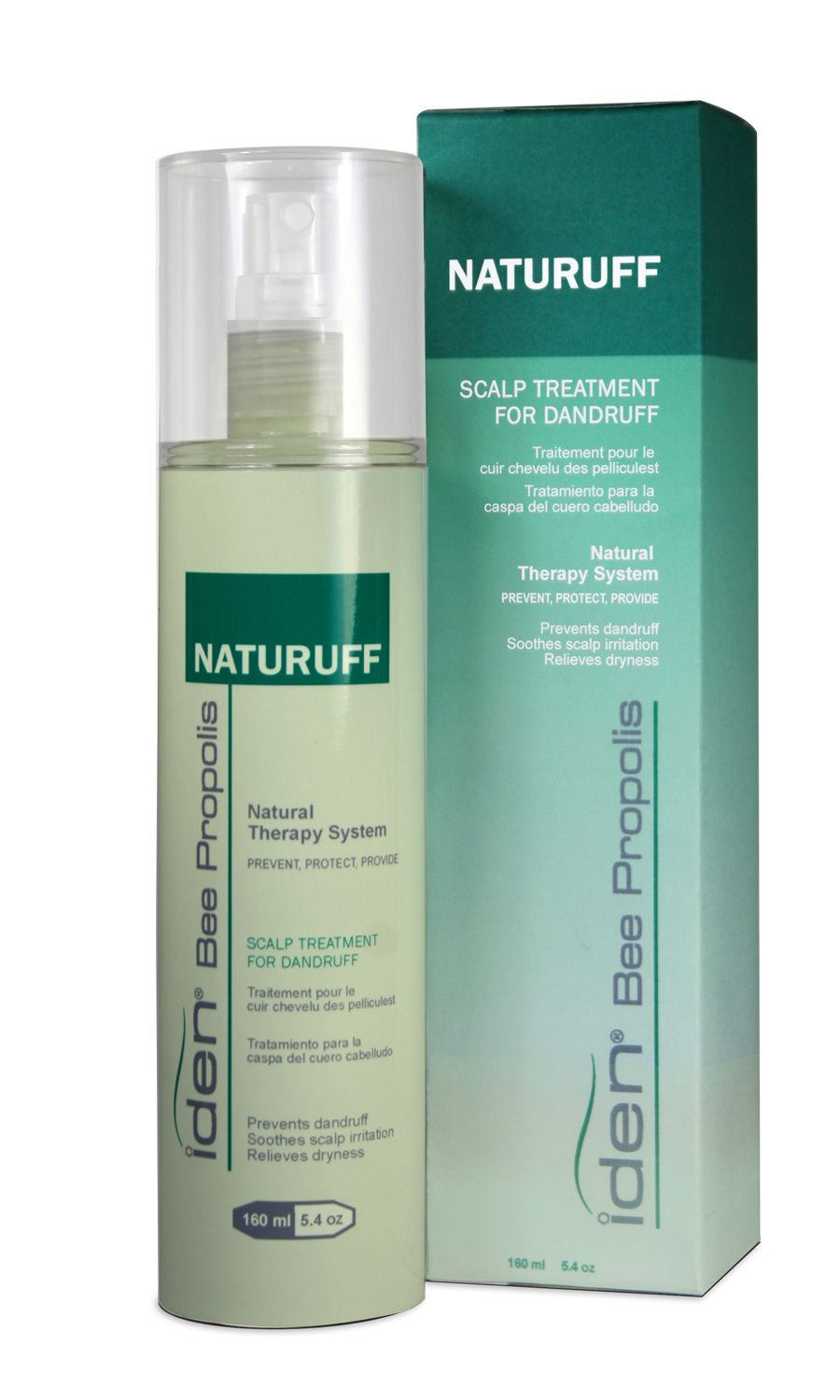 NATURUFF -Leave-in scalp treatment for dandruff BENEFITS +