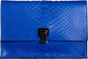 Proenza Schouler Small Lunch Bag Clutch Python - ShopStyle