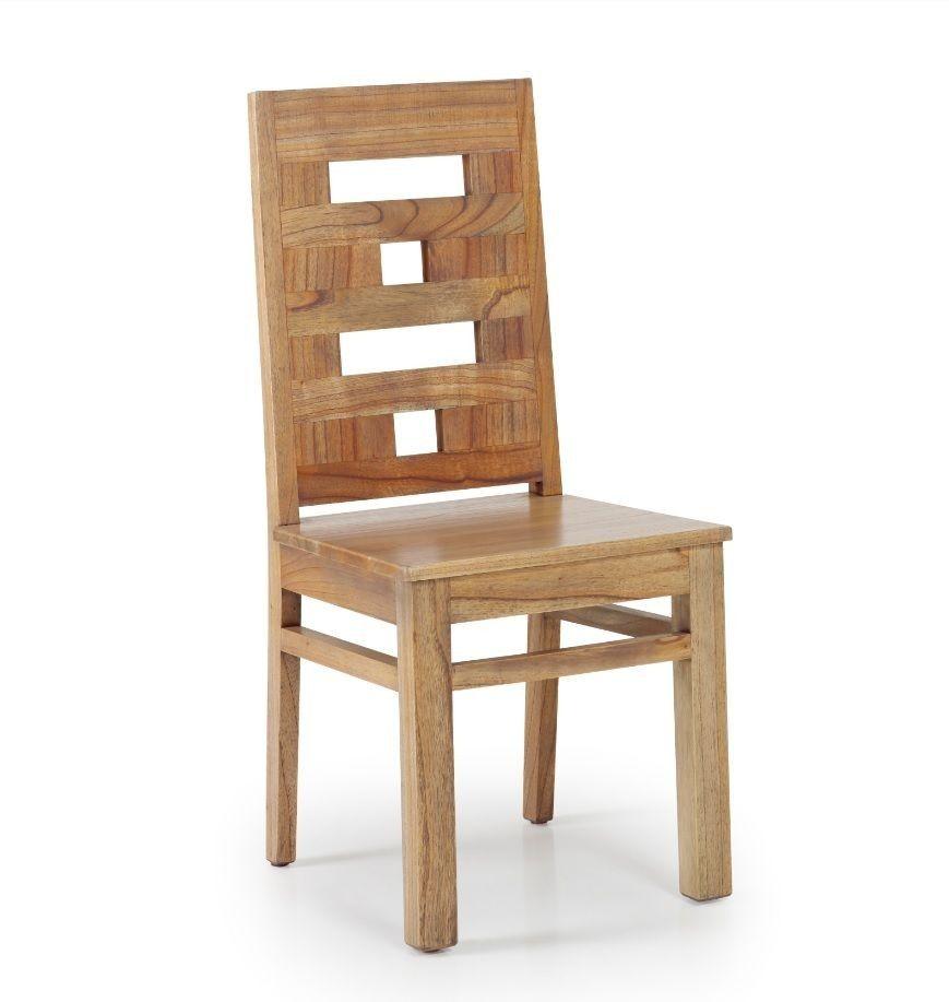 Silla r stica merapi de madera en 2019 comedor madera for Sillas comedor rusticas
