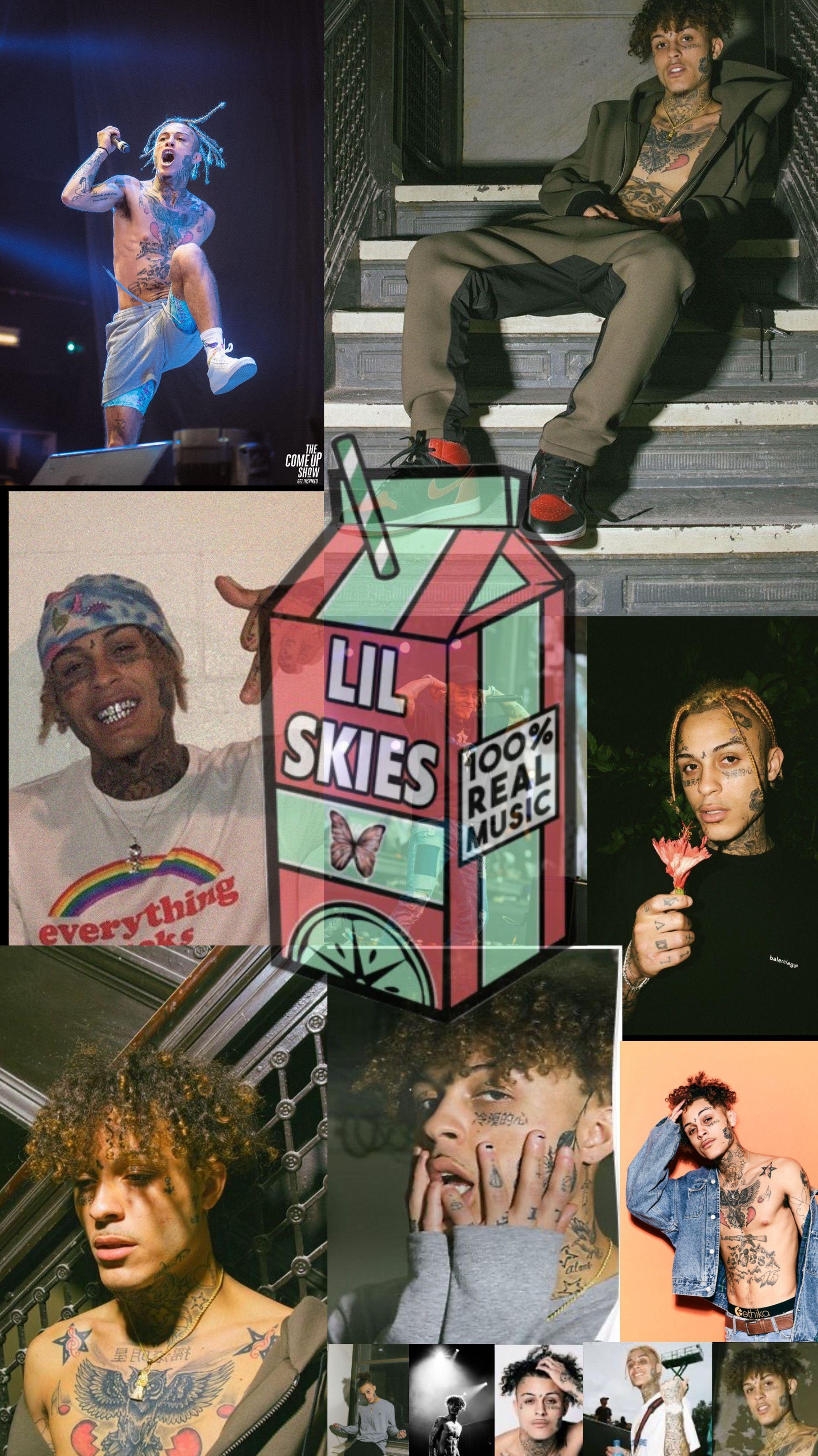 lil skies 1🦋 in 2020 Lil skies, Rap wallpaper