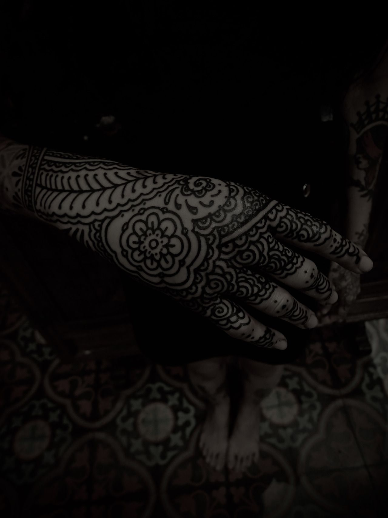 Henna Tattoo In Bangkok: (Miss Ink December 2015 Bangkok , THAILAND)