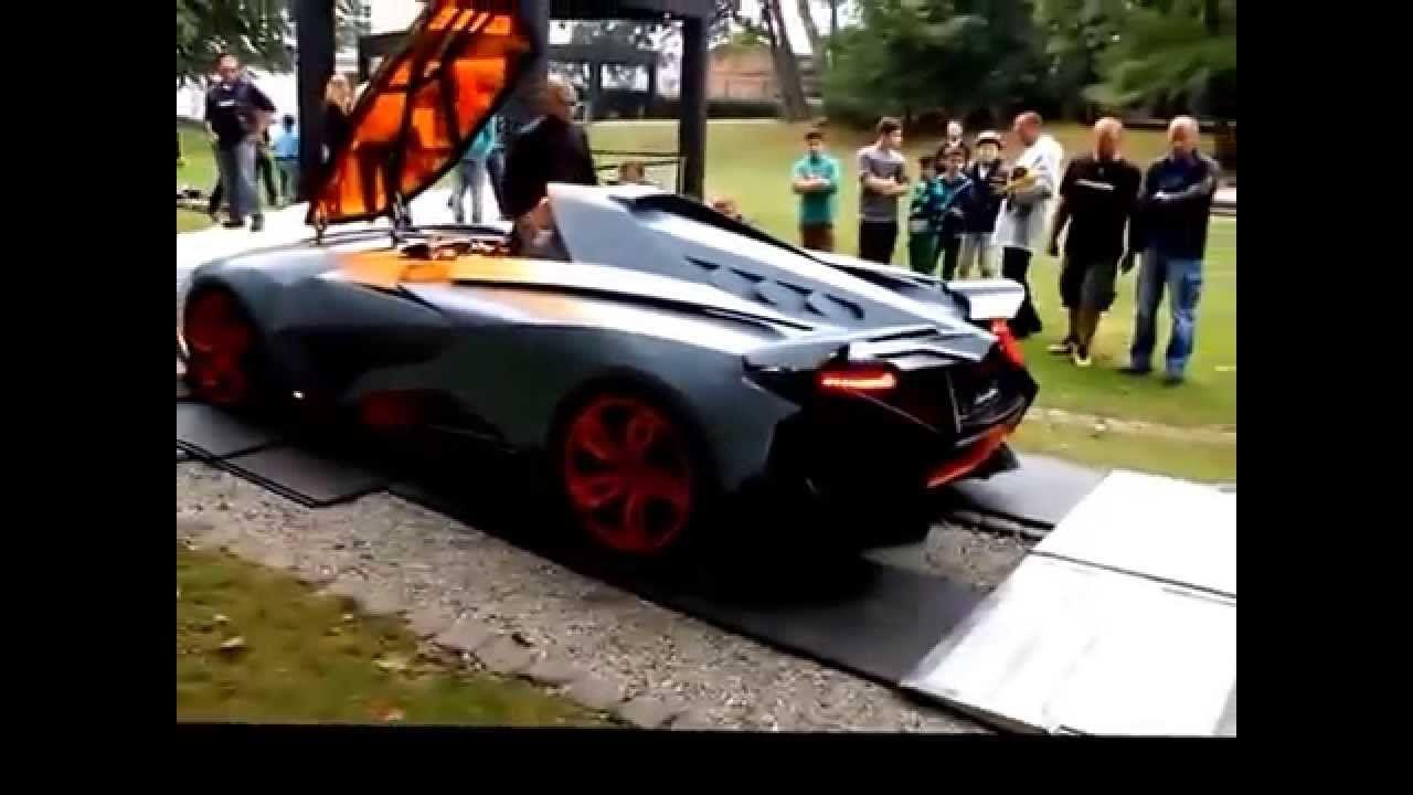 Lamborghini Egoista Test Drive Review Lamborghini Lamborghini