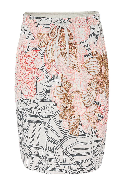 ae7774a0c1a Didi gebloemde rok met pailletten roze #wehkamp #didi #rok #bloemenprint  #print